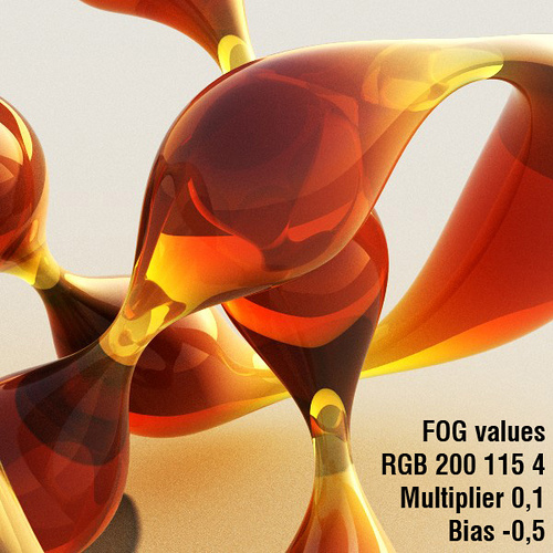 Fog Bias parameter test in Vray Material – pixel/ab/log